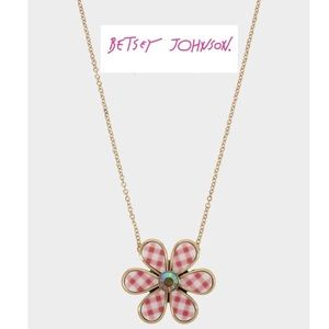New Betsey Johnson Summer Picnic Flower Necklace